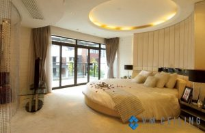 White-round-bedroom-modern-ceiling-design-VM-False-Ceiling-Singapore-Partition-Wall-Contractor_wm