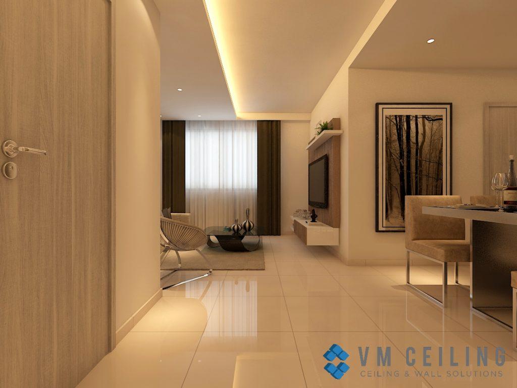 Bedroom False Ceiling Amp Cove Lighting Singapore Condo