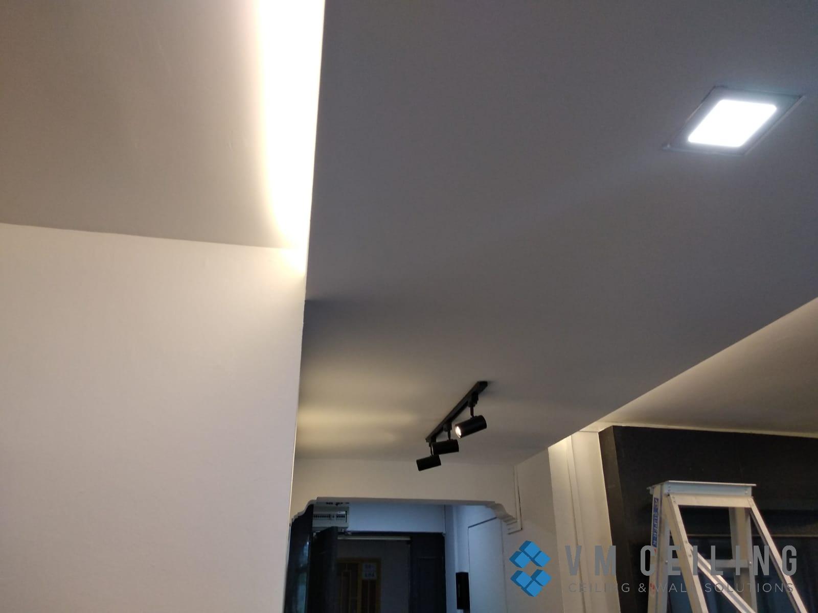 living room false ceiling cove lighting vm ceiling singapore hdb woodlands 4