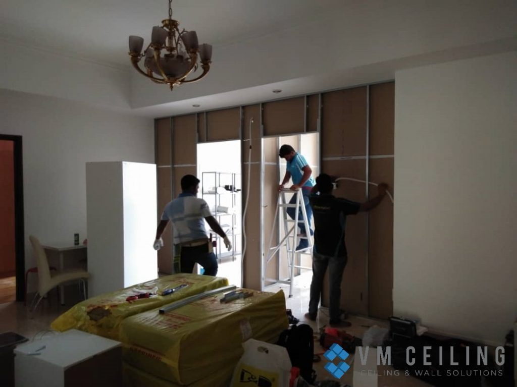 room partition wall cove lighting vm ceiling singapore condo orchard 6