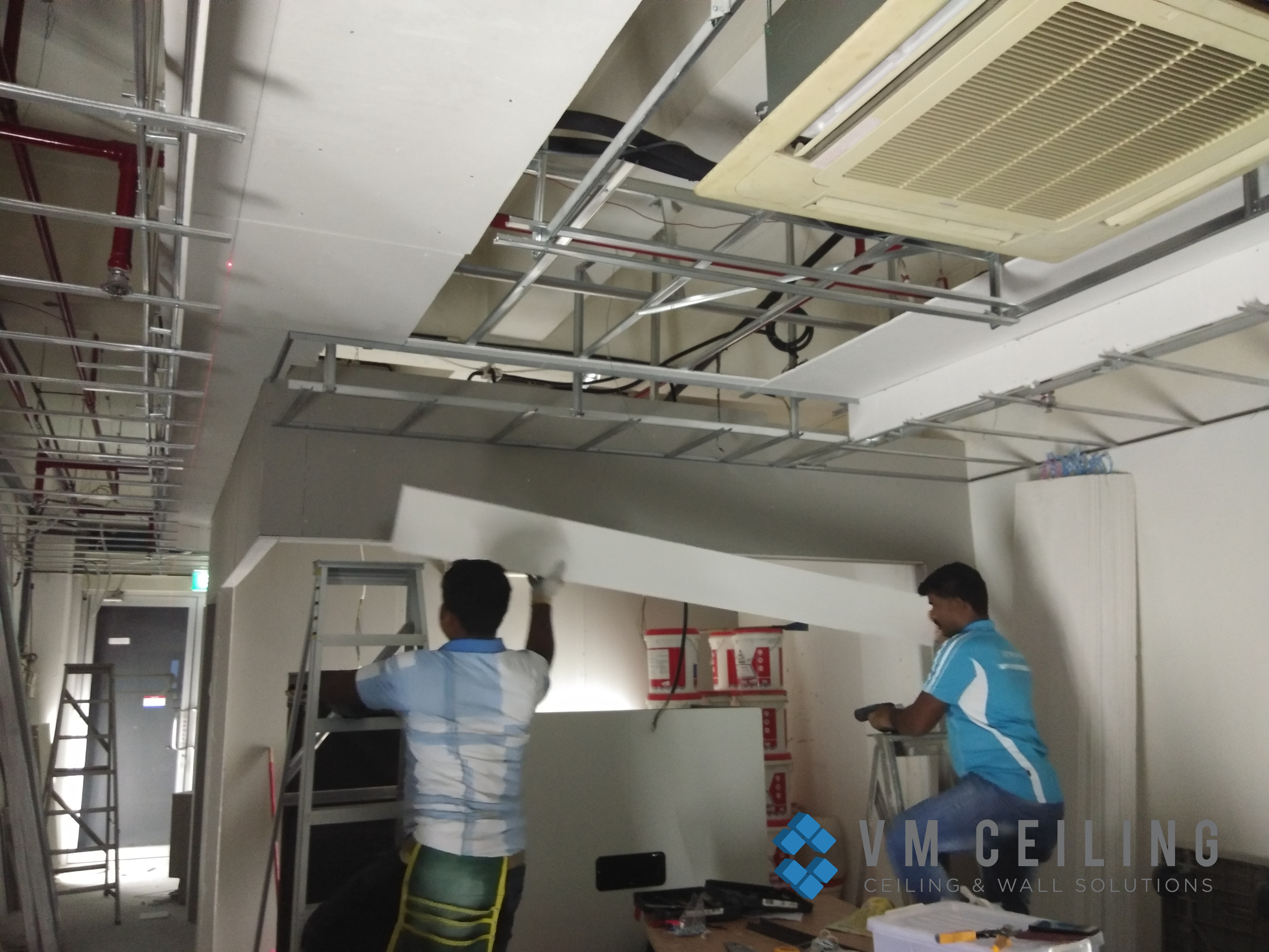 office false ceiling renovation vm ceiling singapore commercial bukit merah 4