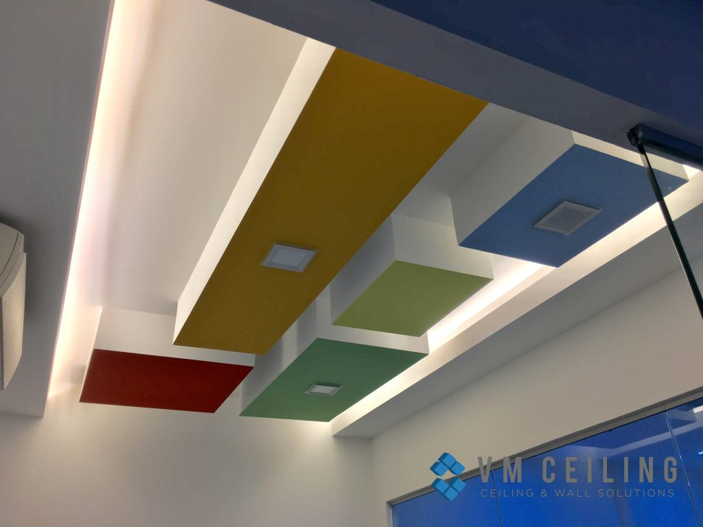 office meeting room false ceiling renovation vm ceiling singapore commercial bukit merah 5