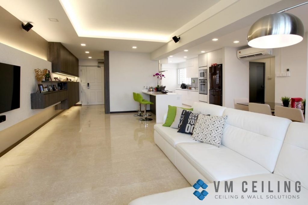 cove ceiling vm false ceiling singapore partition wall
