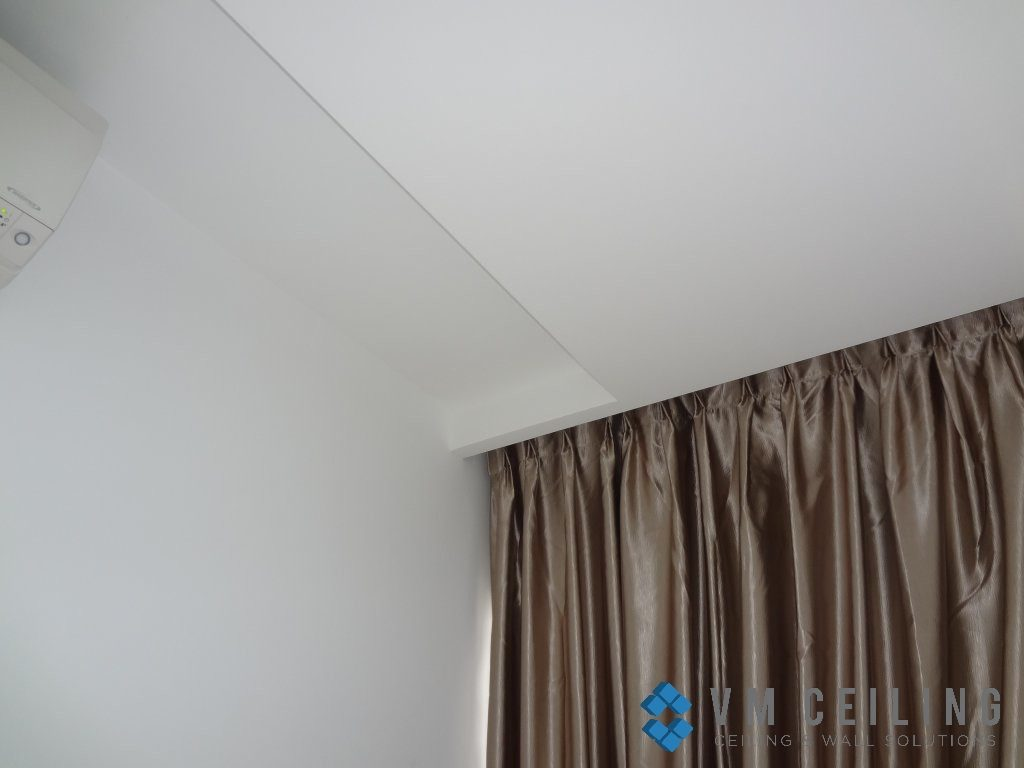 curtain pelmet vm false ceiling partition wall singapore