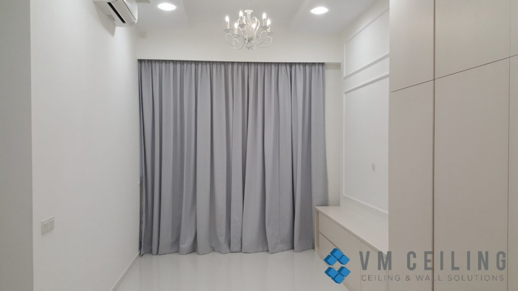 pelmet vm false ceiling partition wall singapore