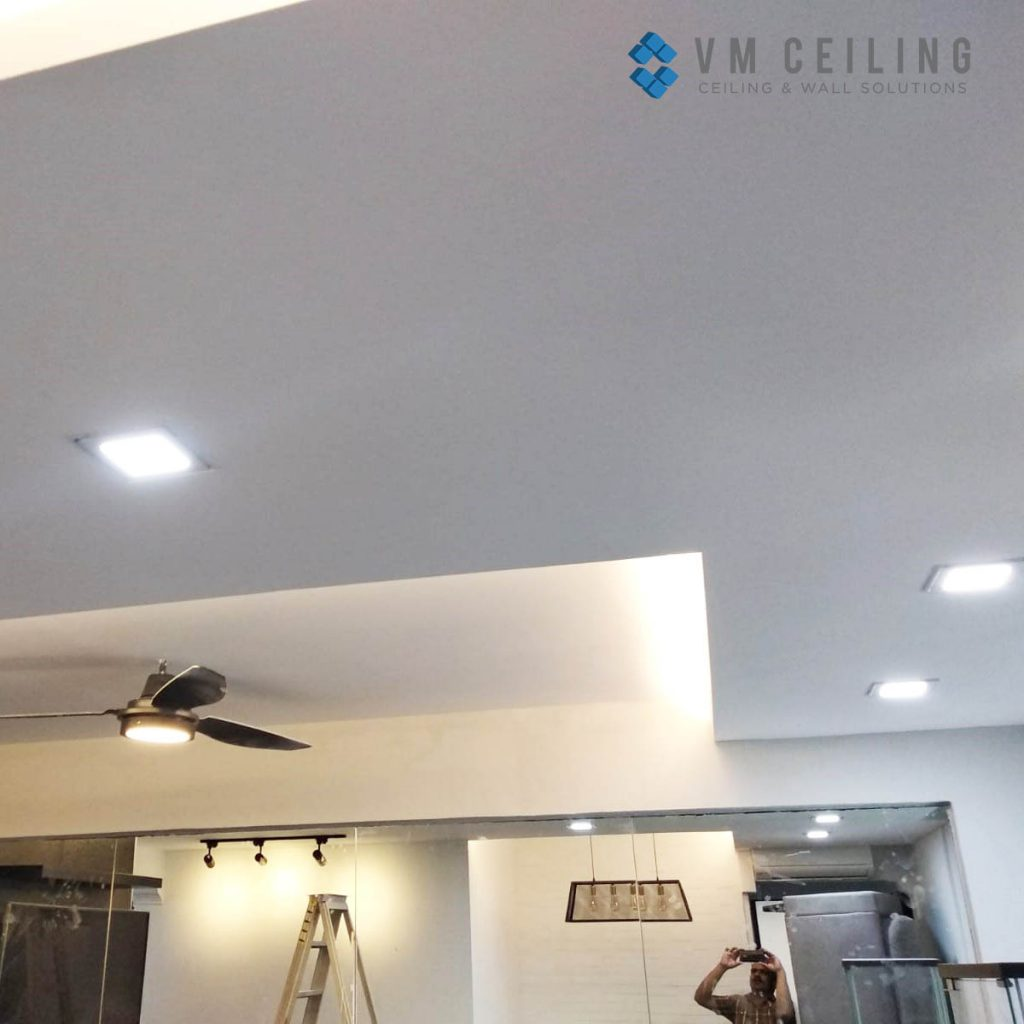 false-ceiling-downlight-living-room-singapore-hdb-bto-renovation