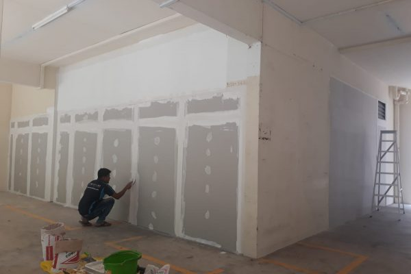 Drywall-Partition-Wall-HDB-Lobby