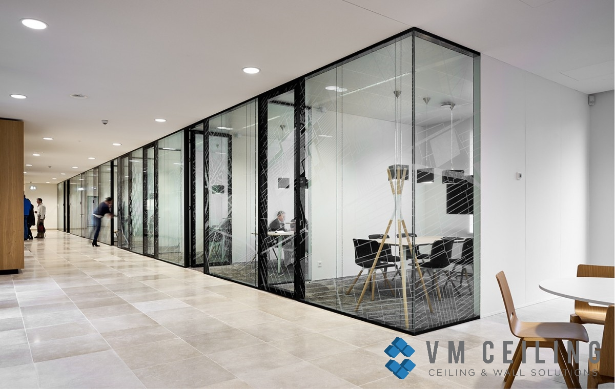 Glass Partition Wall Vm False Ceiling Singapore