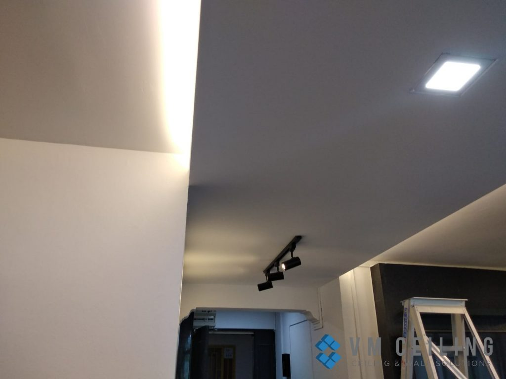 living room false ceiling cove lighting vm ceiling singapore hdb woodlands 4