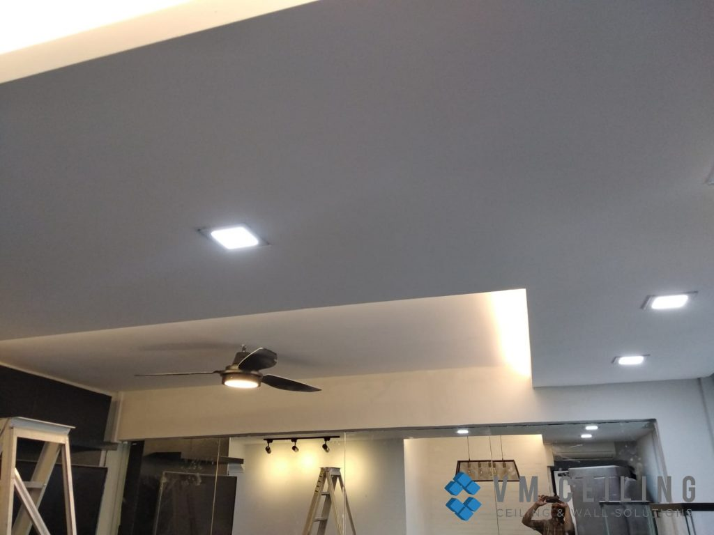 living room false ceiling cove lighting vm ceiling singapore hdb woodlands 5