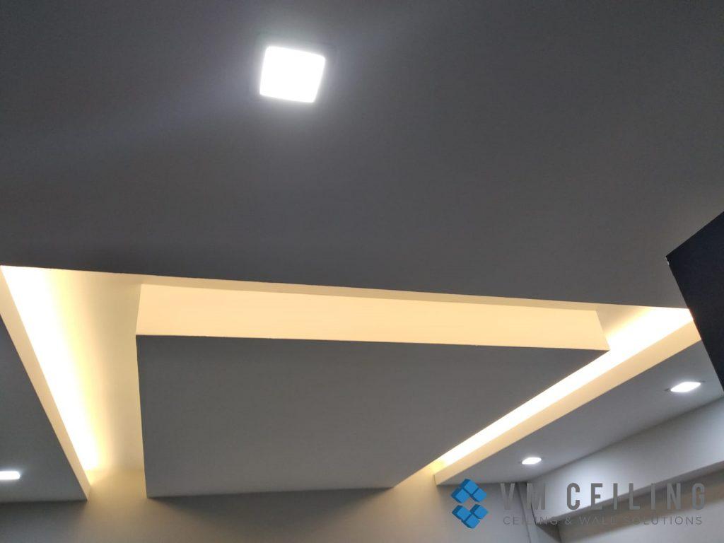living room false ceiling cove lighting vm ceiling singapore hdb woodlands 6