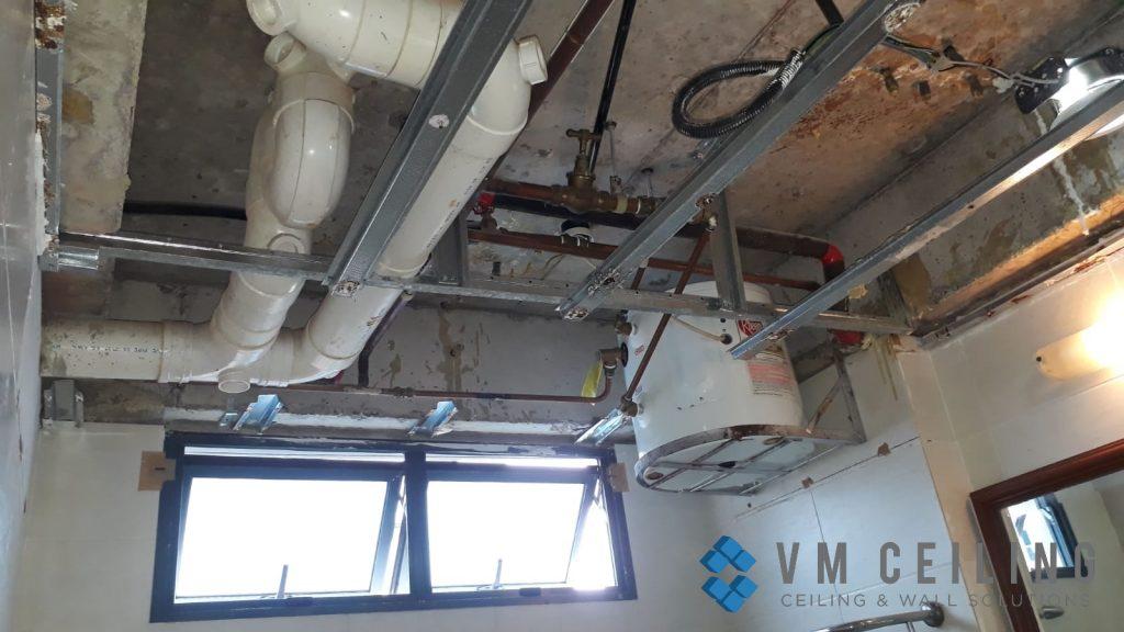 bathroom false ceiling downlights installation singapore condo choa chu kang 4