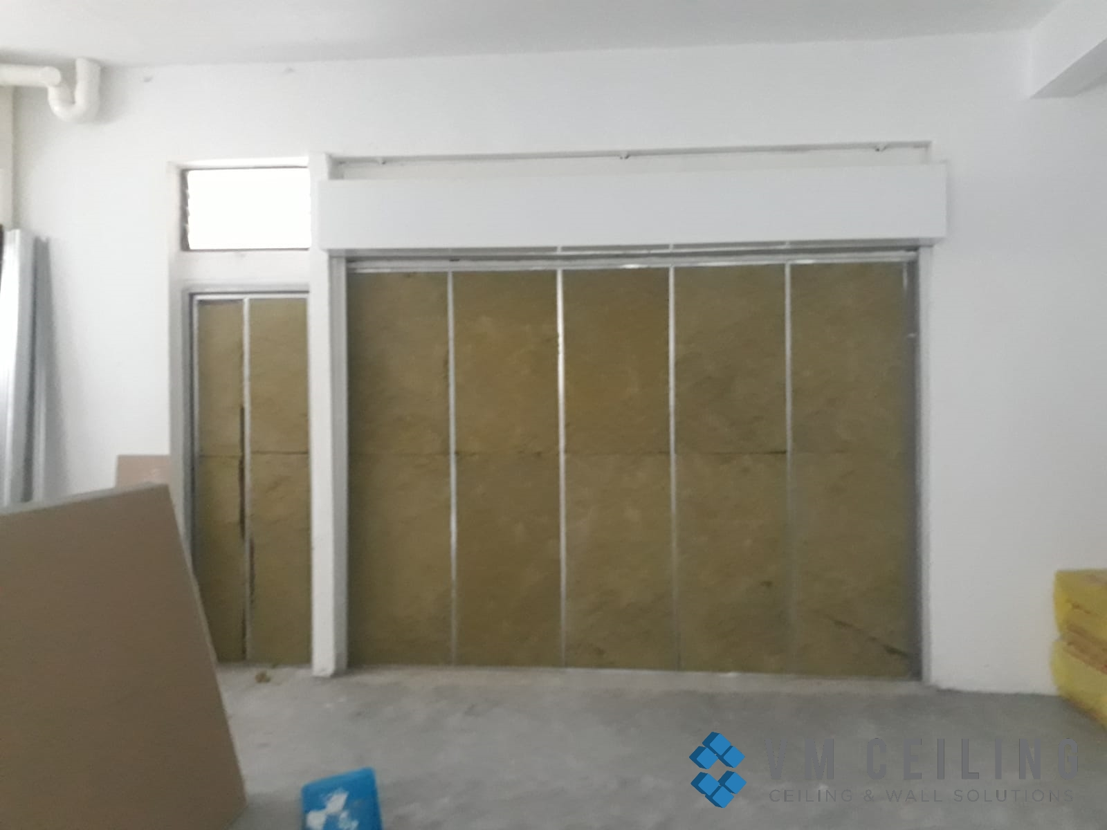 partition wall vm ceiling singapore commercial studio bukit batok 1