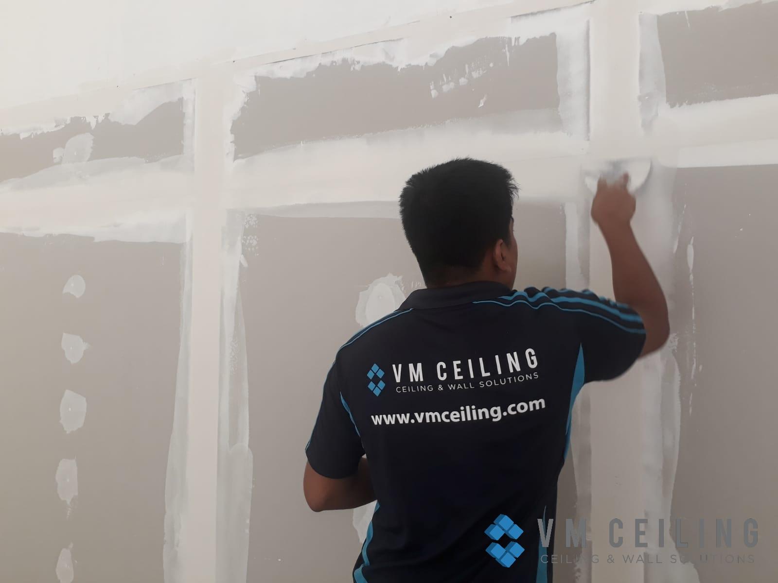 partition wall vm ceiling singapore commercial studio bukit batok 5
