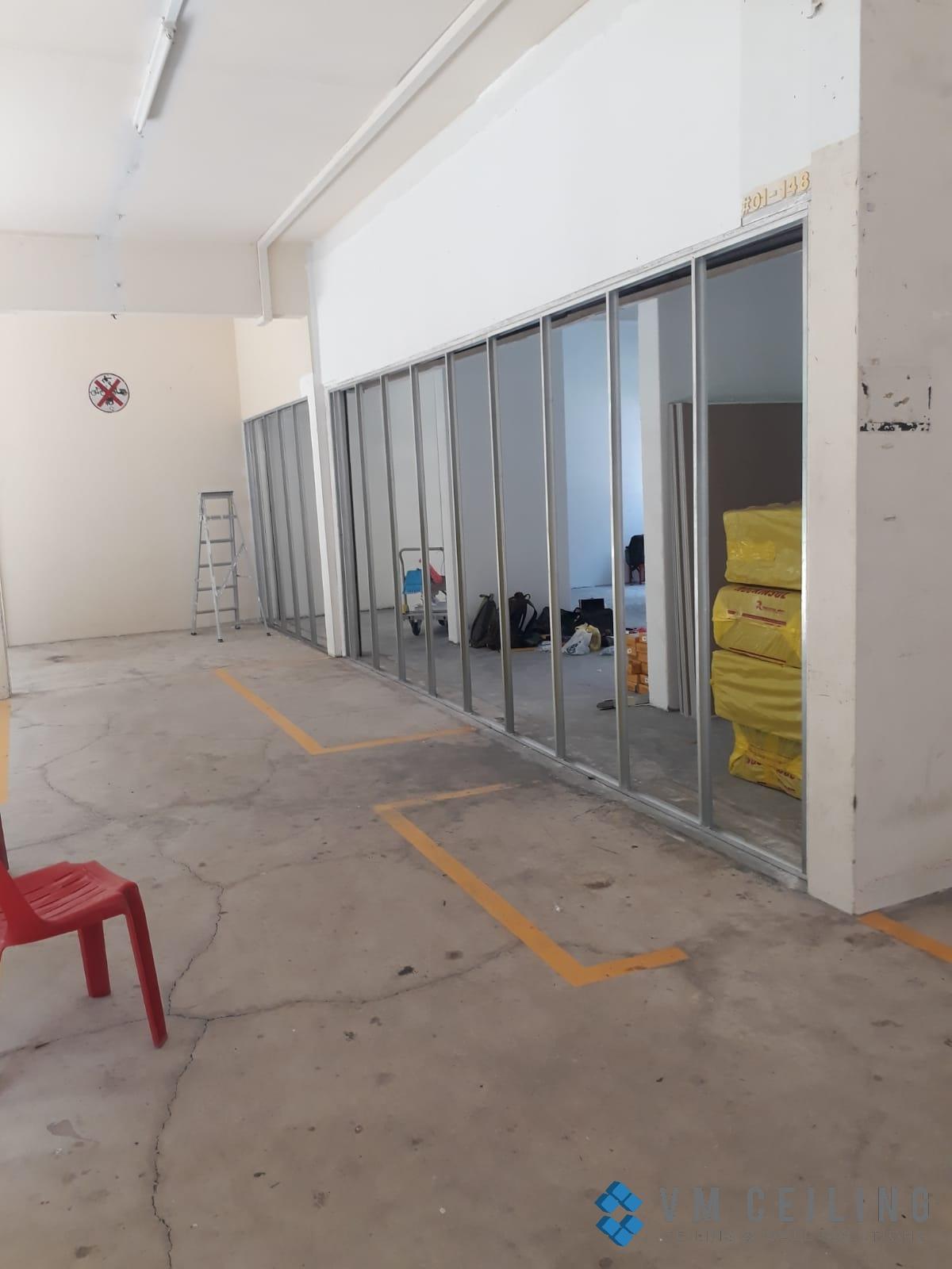 partition wall vm ceiling singapore commercial studio bukit batok 6