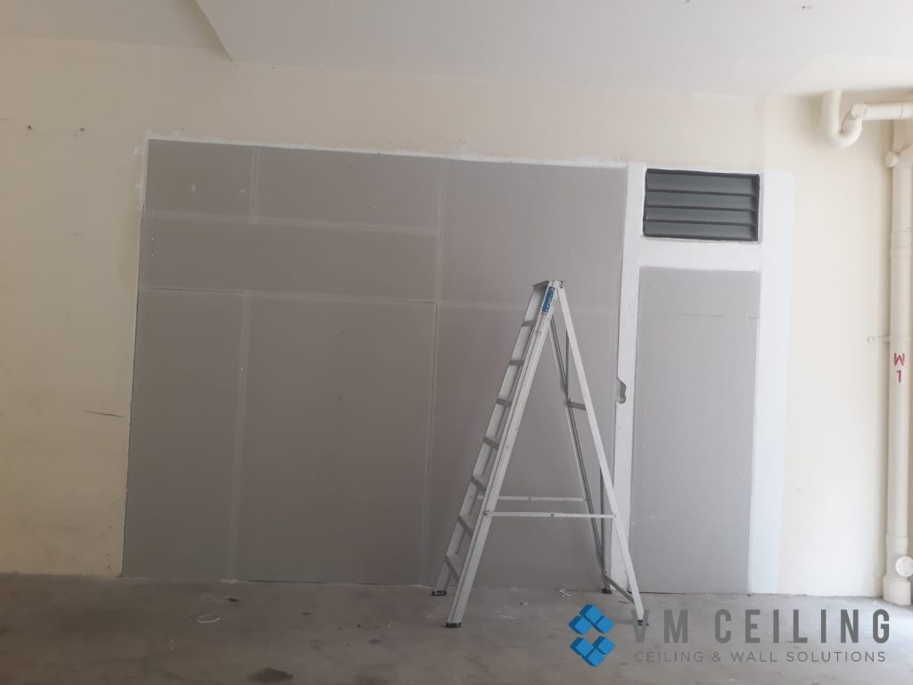 partition wall vm ceiling singapore commercial studio bukit batok 9