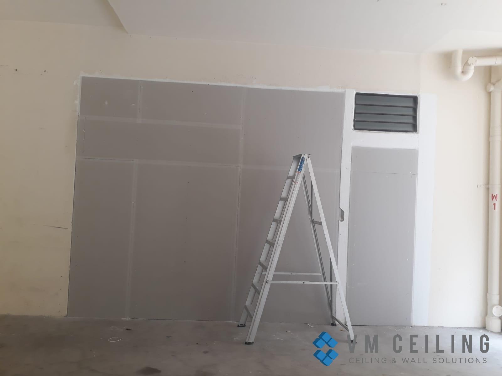 partition wall vm ceiling singapore commercial studio bukit batok 9