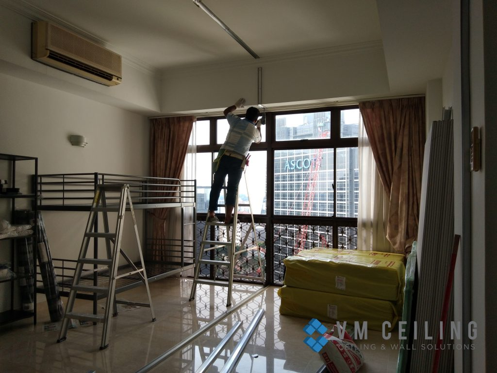 room partition wall cove lighting vm ceiling singapore condo orchard 1