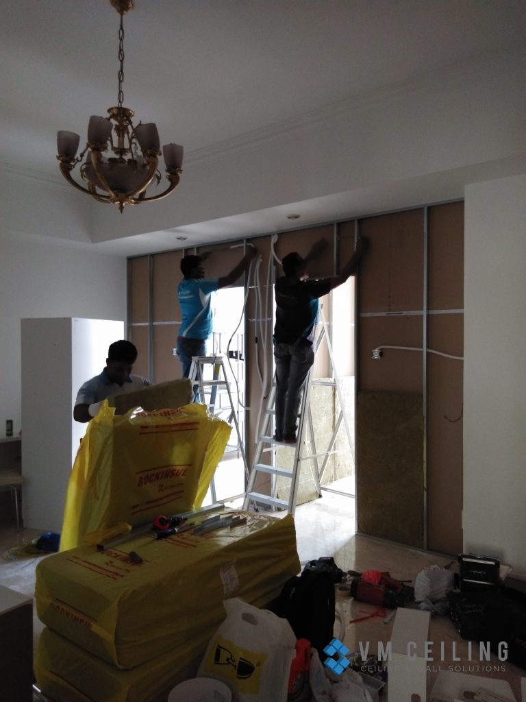 room partition wall cove lighting vm ceiling singapore condo orchard