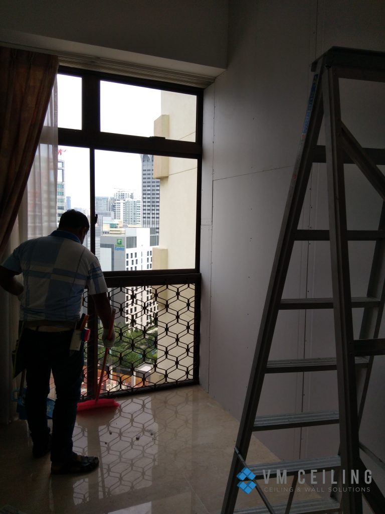 room partition wall cove lighting vm ceiling singapore condo orchard 8