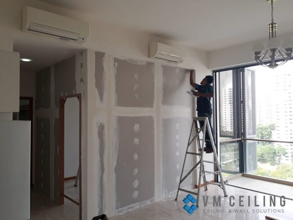 bedroom partition wall vm ceiling singapore condo woodlands 5