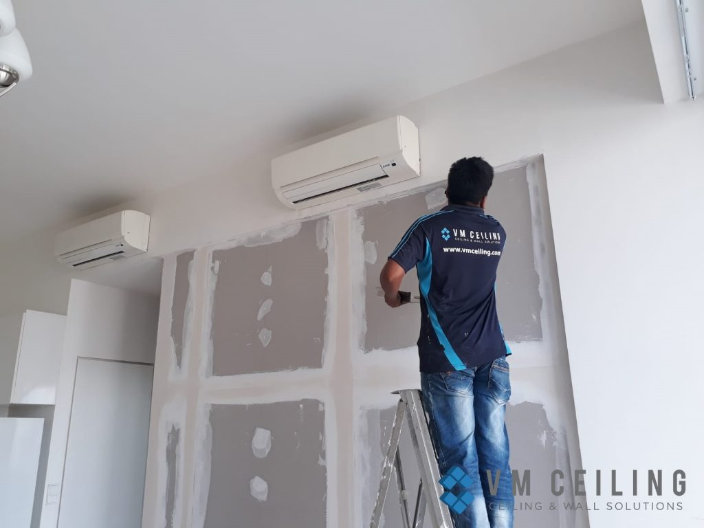 bedroom partition wall vm ceiling singapore condo woodlands 6