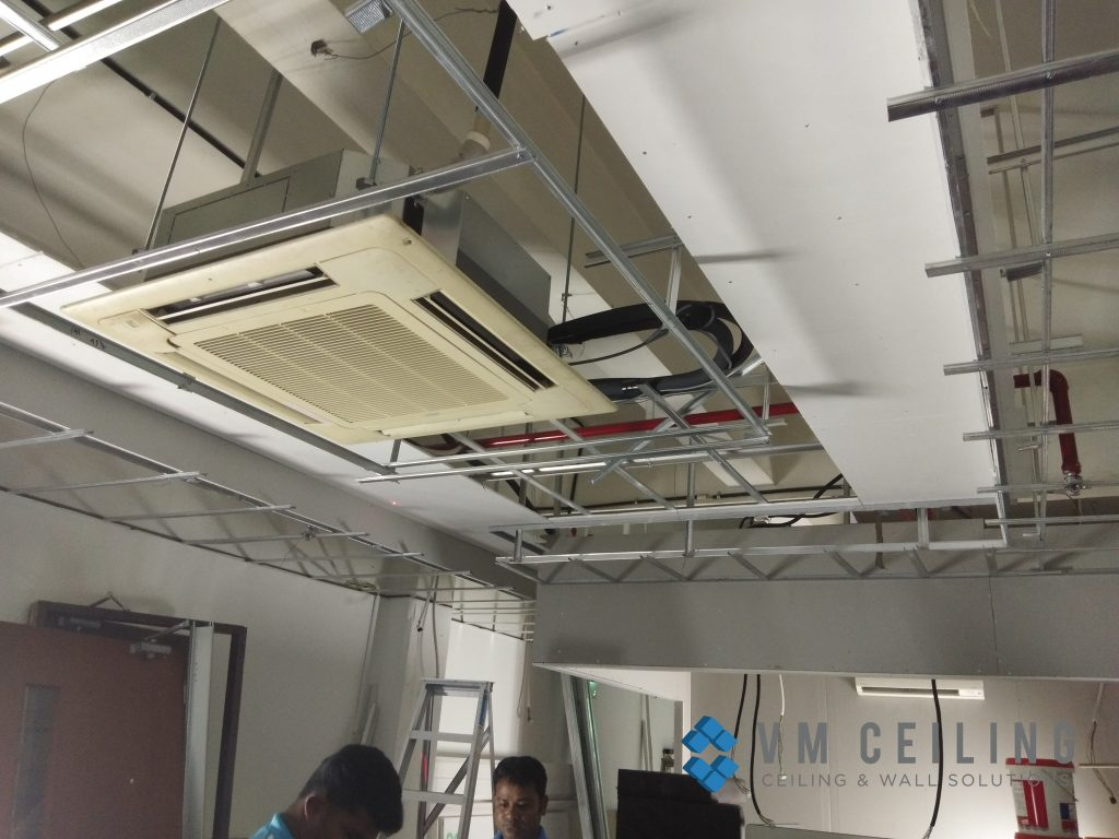 office false ceiling renovation vm ceiling singapore commercial bukit merah 3