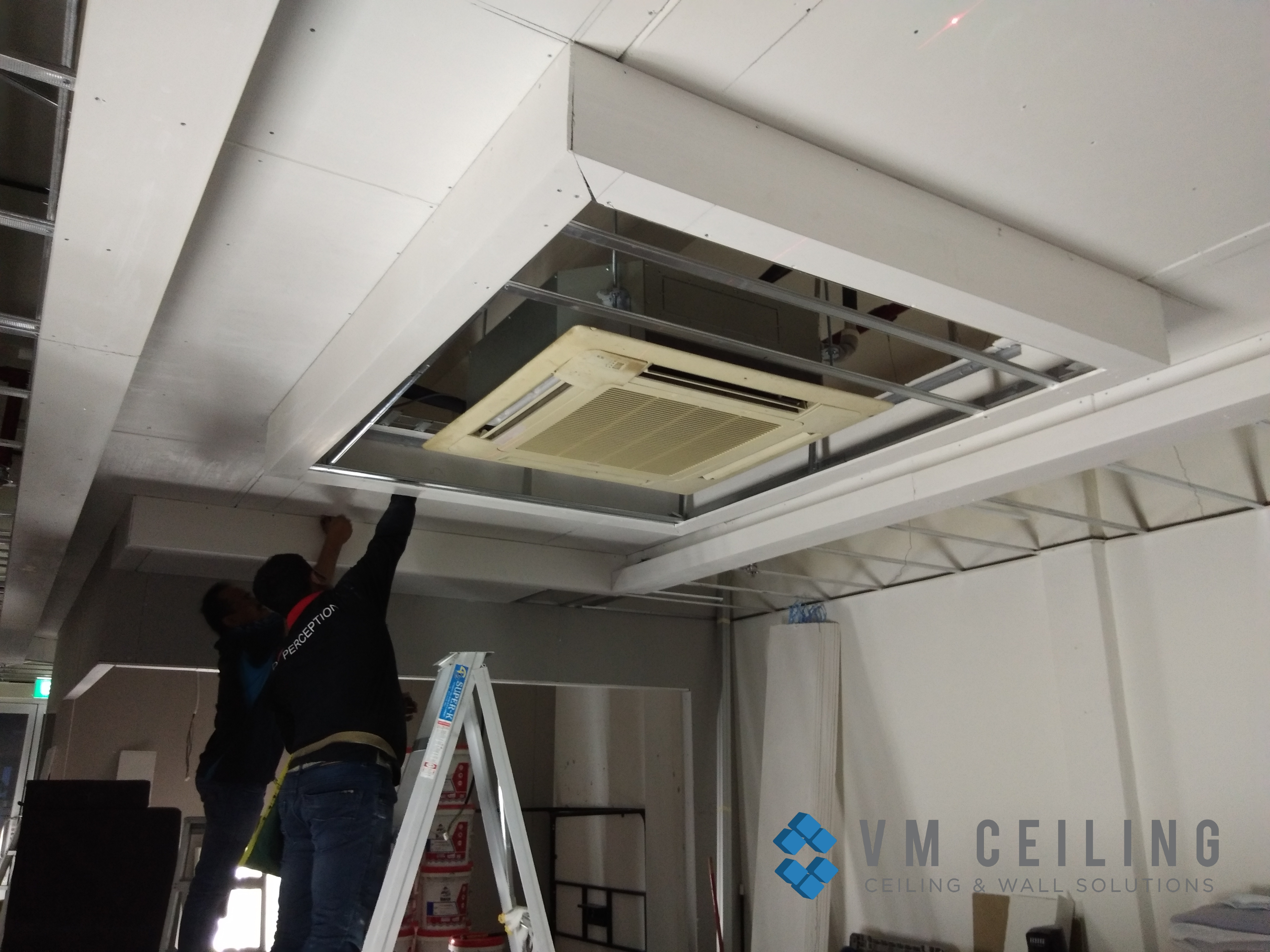 office false ceiling renovation vm ceiling singapore commercial bukit merah 5