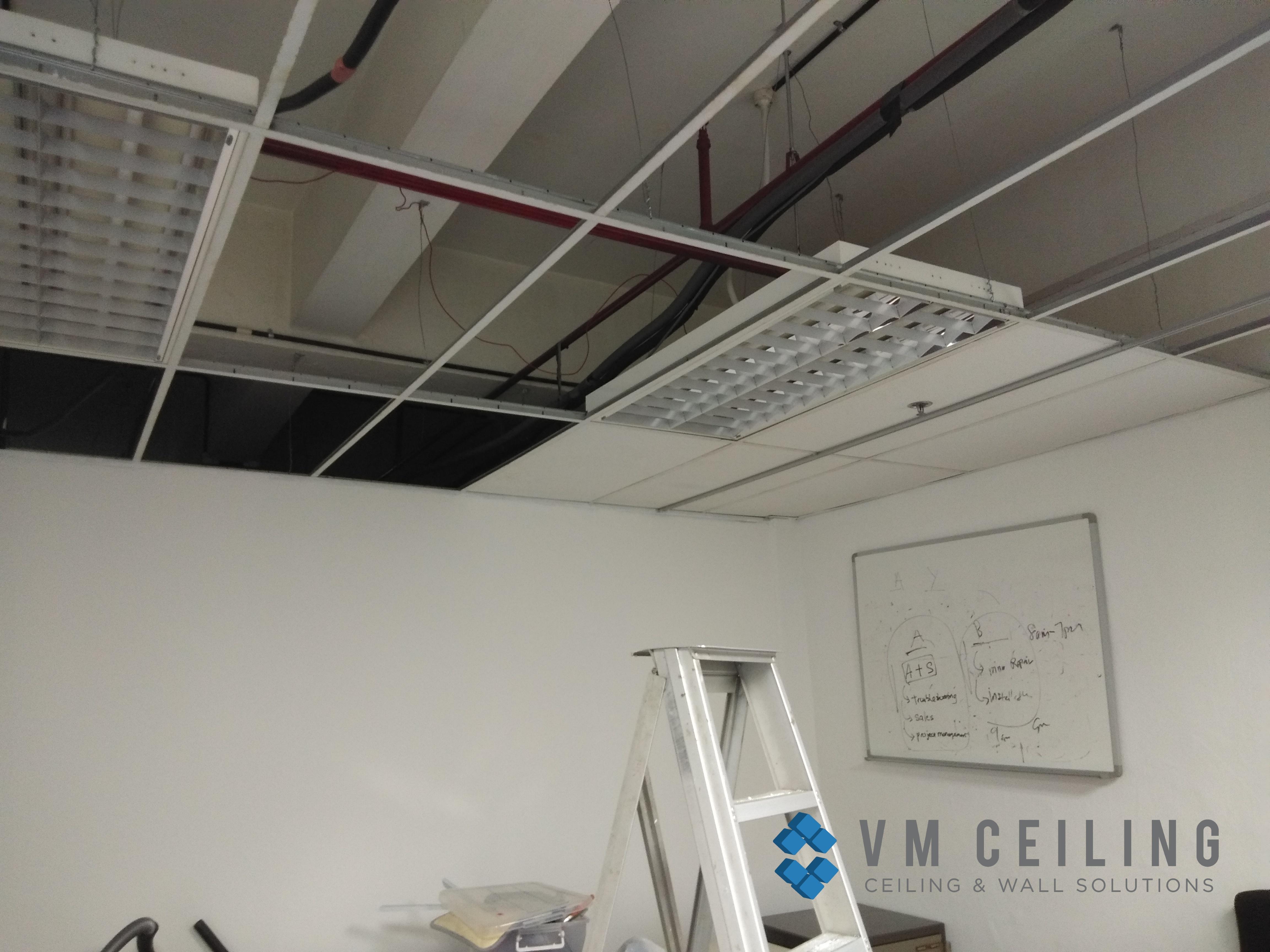 office meeting room false ceiling renovation vm ceiling singapore commercial bukit merah 1