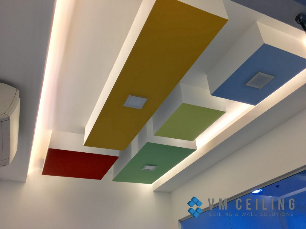 office meeting room false ceiling renovation vm ceiling singapore commercial bukit merah 4