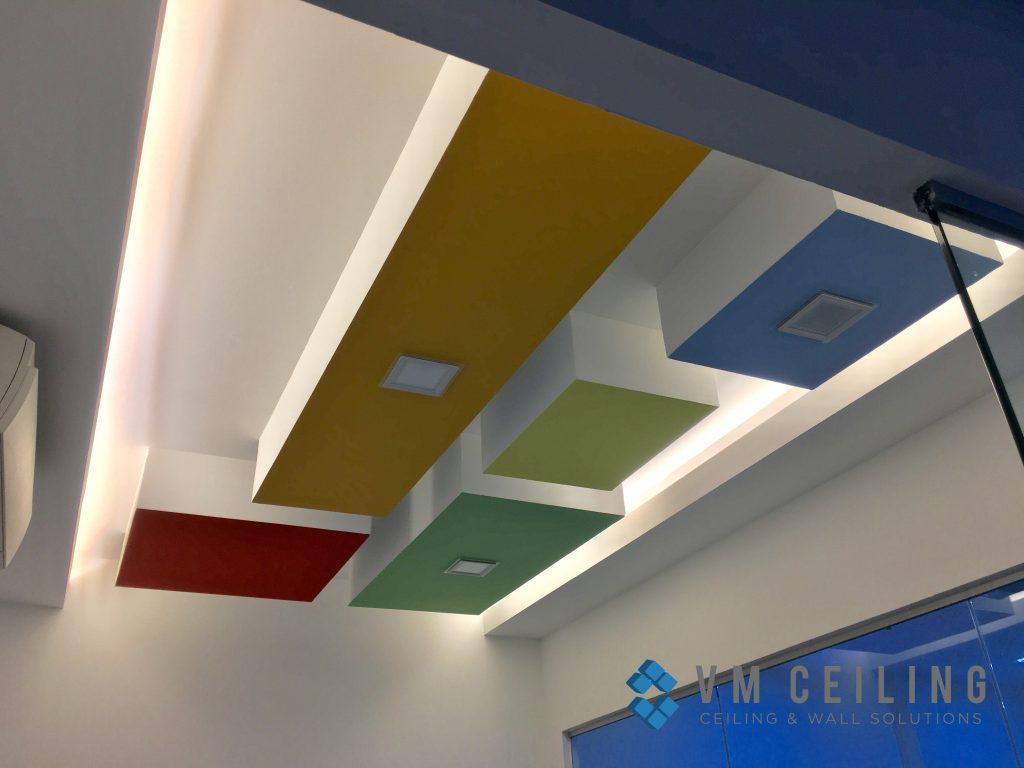 office meeting room false ceiling renovation vm ceiling singapore commercial bukit merah 5