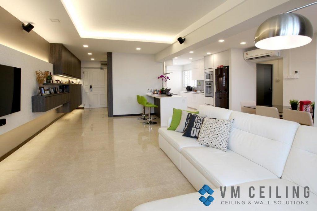 cove ceiling vm false ceiling singapore partition wall